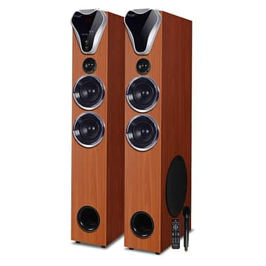 TV-555 BT 2.0 Multimedia Tower Speaker - Buy Bluetooth Tower Speaker Online at Best Price | Truvison. Available at ₹18999