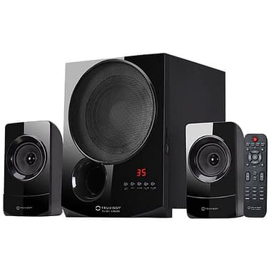 TV-001 X-BASS 2.1 Channel Home Theater System with Bluetooth - Buy Home Theatre System Online at Best Price | Truvison. Available at ₹5999