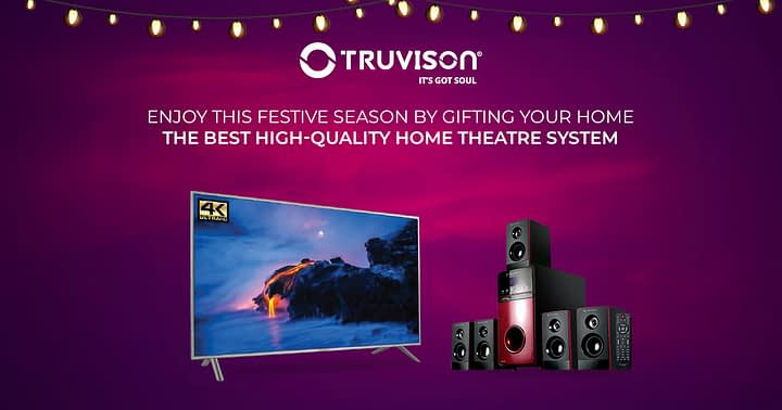 Enjoy this festive season gifting your home the best high-quality Home Theatre System
