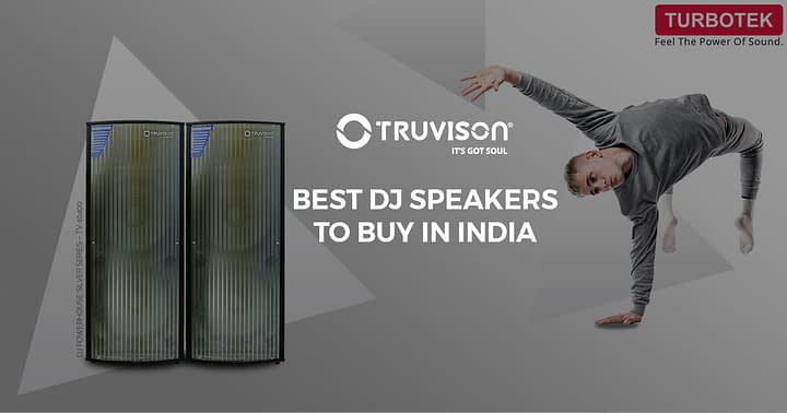 Best DJ speakers to buy in India